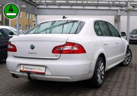 ATTELAGE SKODA SUPERB II 09/2008-> - GDW-BOISNIER attache remporque