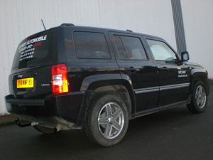 ATTELAGE JEEP PATRIOT- COL DE CYGNE - attache remorque ATNOR