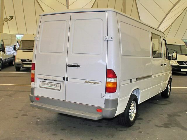 Mercedes Sprinter Long. ATTELAGE MERCEDES SPRINTER