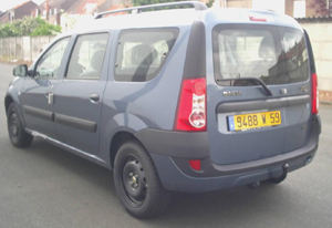 ATTELAGE DACIA Logan MCV Break et Van - 03/2007-> - attache remorque ATNOR