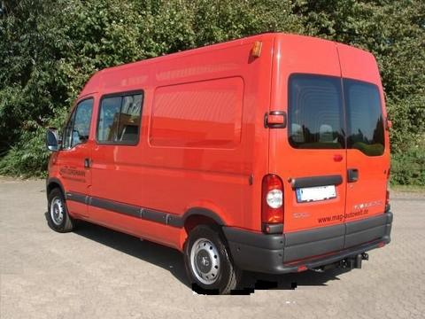 ATTELAGE NISSAN INTERSTAR FOURGON COURT+MOY+LONG 12/1997> - attache remorque