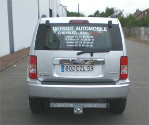 ATTELAGE JEEP Cherokee 2007-> (KK) - attache remorque ATNOR