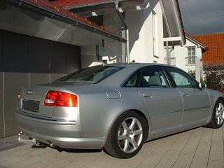 ATTELAGE AUDI A8 Phase 2 - 10/2002-> - attache remorque ATNOR