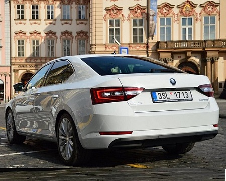 ATTELAGE SKODA SUPERB 2015-> - Col de cygne - attache remorque ATNOR
