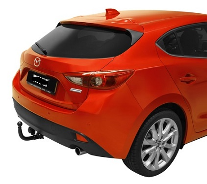 ATTELAGE Mazda 3 hayon 2013-> - RDSO demontable sans outil - attache remorque BRINK-THULE