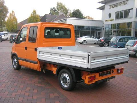 ATTELAGE OPEL MOVANO Pick-Up 1998-> - rotule equerre - attache remorque BRINK
