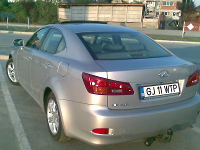 ATTELAGE LEXUS IS 220 1999->2005 - RDSO demontable sans outil - attache remorque BRINK-THULE