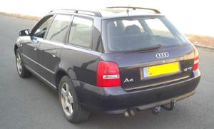 ATTELAGE AUDI A4 Break 1999-> 2001 (Type 8D(inclus Quattro) - RDSO demontable sans outil - attache remorque B