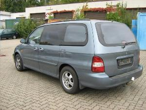 ATTELAGE Kia Carnival 1999->2006 (UP) - RDSO demontable sans outil - attache remorque BRINK-THULE