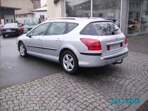 ATTELAGE PEUGEOT 407 break - attache remorque BRINK-THULE