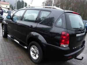 ATTELAGE SSANGYONG Rexton 4x4 2002->2006 - rotule equerre - attache remorque BRINK-THULE