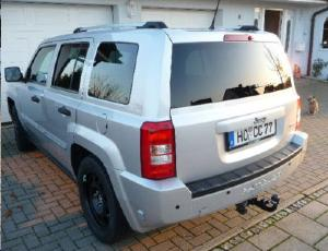 ATTELAGE JEEP Patriot 2007-> (PK) - RDSO demontable sans outil - attache remorque BRINK-THULE