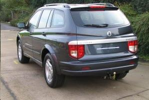 ATTELAGE SSANGYONG Kyron 4x4 2005-> - rotule equerre - attache remorque BRINK-THULE