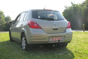 ATTELAGE NISSAN TIIDA 2007->2012- RDSO demontable sans outil - BRINK-THULE THULE