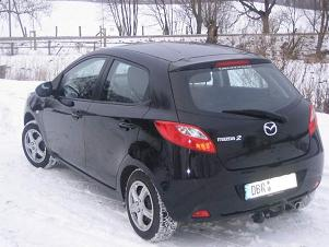 ATTELAGE MAZDA 2 hayon 2007-> - RDSO demontable sans outil - attache remorque BRINK-THULE