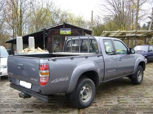 ATTELAGE MAZDA BT50 2006-> chassis cabine 4WD - rotule equerre - attache remorque BRINK-THULE