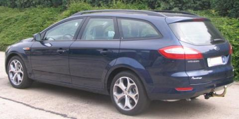 ATTELAGE Ford Mondeo BREAK 2007-> - RDSO demontable sans outil - attache remorque BRINK-THULE
