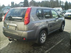 ATTELAGE NISSAN X-Trail 4x4 (T31) - rotule equerre - attache remorque BRINK-THULE
