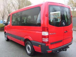 ATTELAGE MERCEDES SPRINTER chassis cabine 1995->2006 (roues jumelees) - ROTULE EQUERRE - attache remorque BRIN