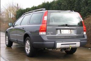 ATTELAGE VOLVO XC70 2007-> RDSO demontable sans outil - attache remorque BRINK-THULE
