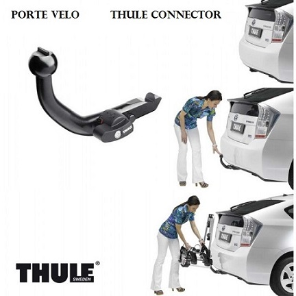 ATTELAGE TOYOTA PRIUS 2012-> - RDSO demontable sans outil - Porte velo THULE Connector